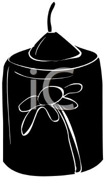Votive Candle Free Clipart.
