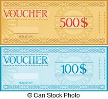 Voucher Clip Art Vector and Illustration. 22,748 Voucher clipart.
