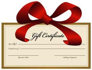 Gift voucher clipart free.