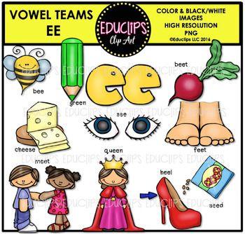 Long E Vowel Team.