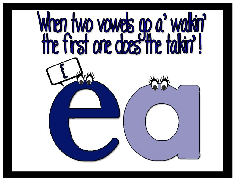 Fundations: Ee, Ea Double Word Words.