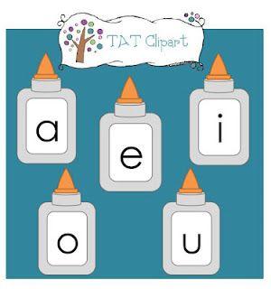 we're a e i o u, were the vowels were the glue that stick the.