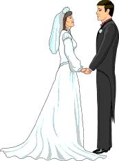 Wedding Vows Clipart.
