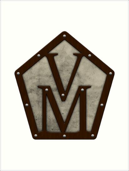 \'Vox Machina Crest (Critical Role Fan Design)\' Art Print by enduratrum.