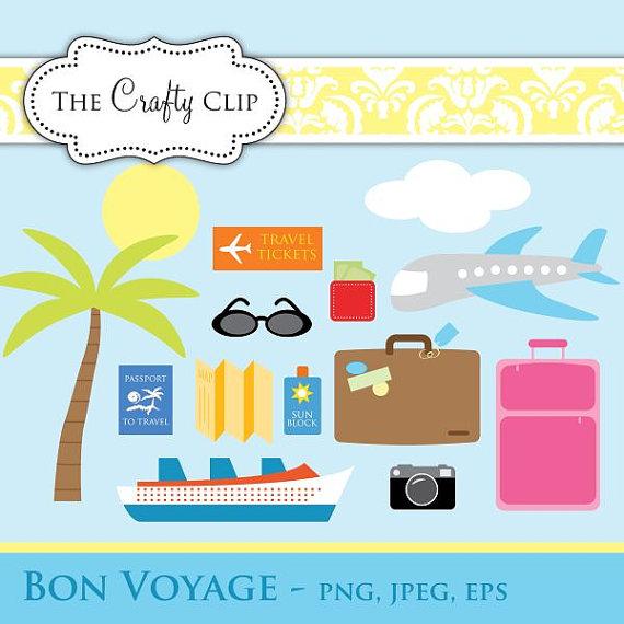 Bon Voyage Clipart.