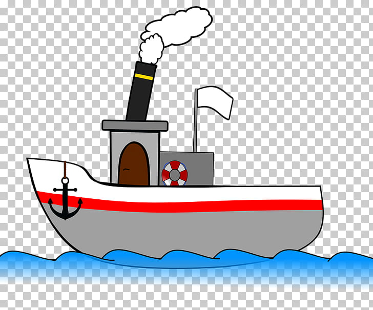 Steamboat Steamship, boat PNG clipart.