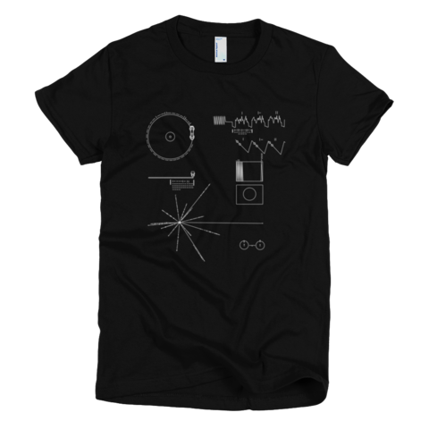 Voyager Golden Record t shirt.