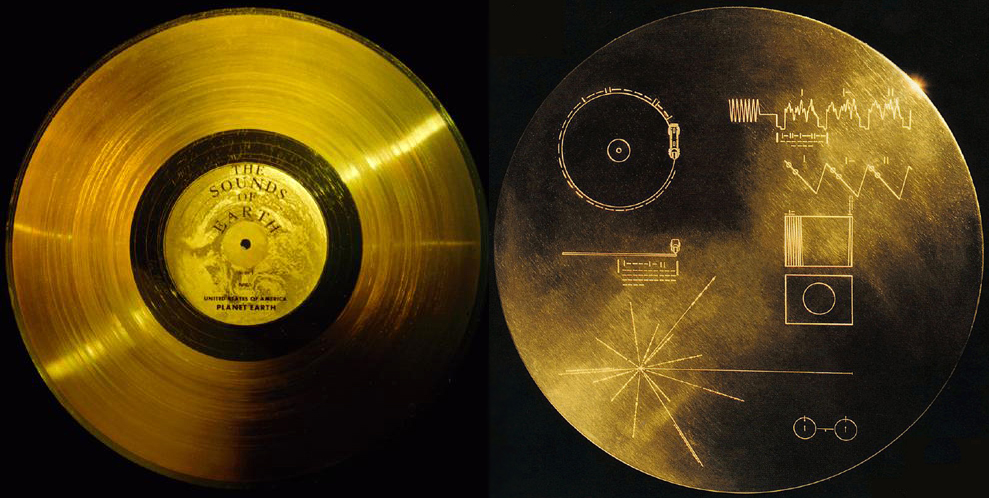 Voyager's Golden Record.