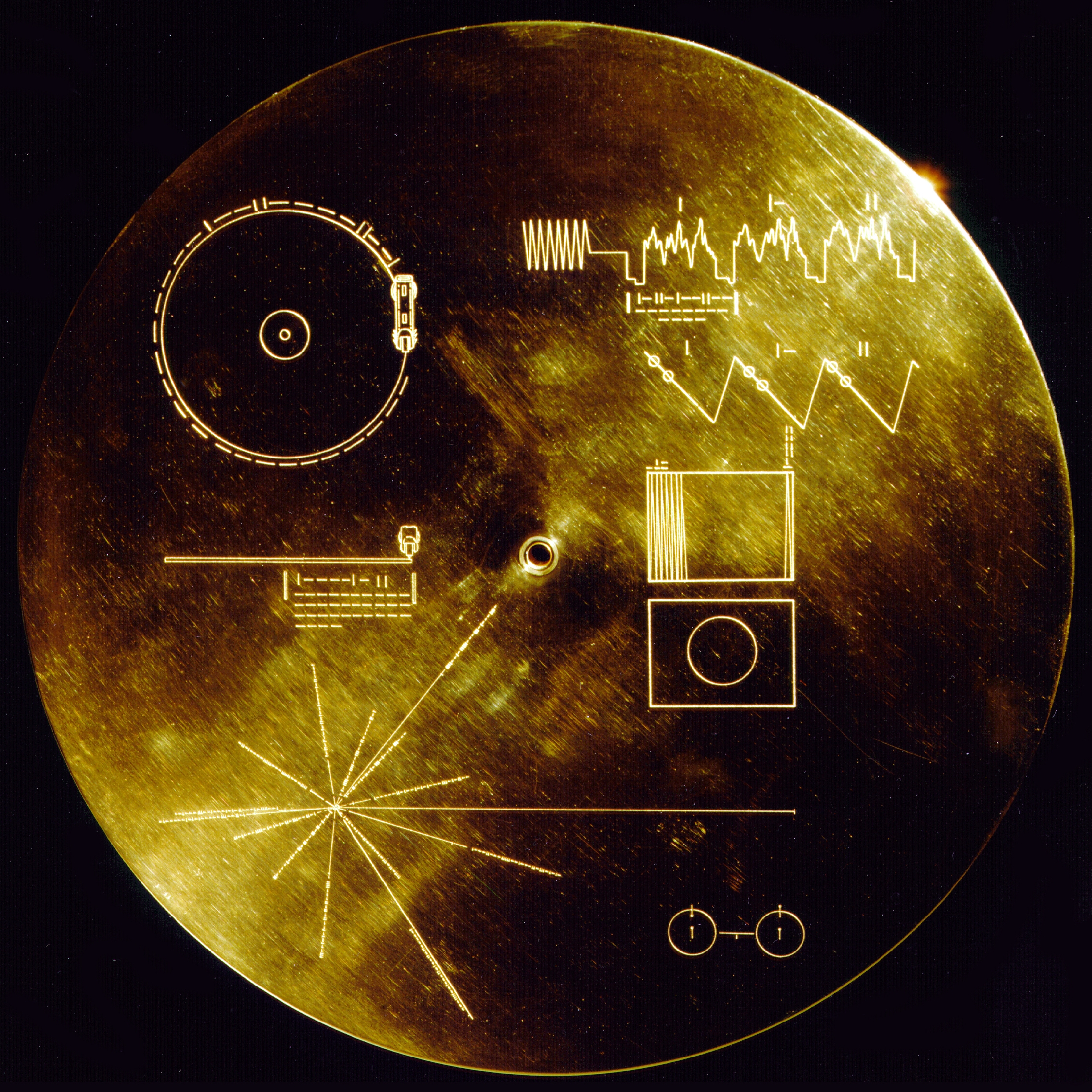 Voyager Golden Record (1977).