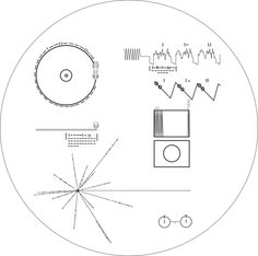 voyager one golden record image.