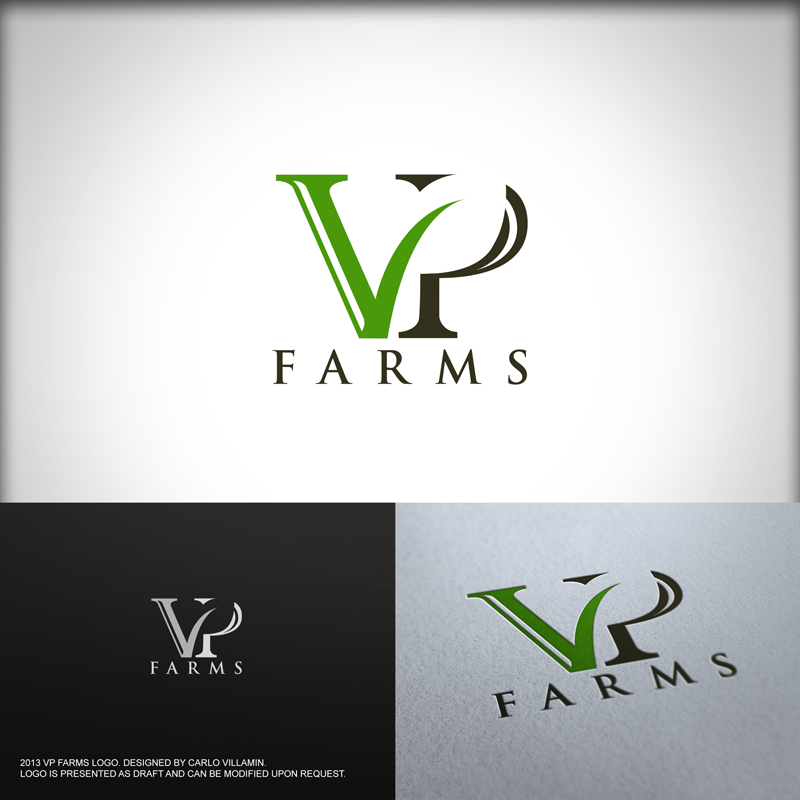 Modern, Upmarket, Business Logo Design for VP Farms (or.