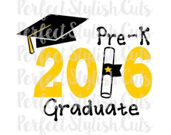 Pre k graduation.