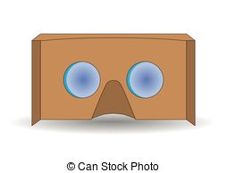 Vr cardboard Vector Clipart Illustrations. 59 Vr cardboard clip.