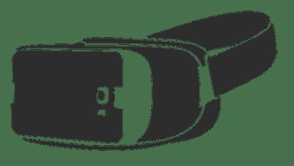 VR Headset Clipart transparent PNG.
