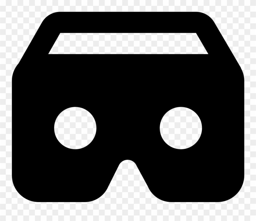 Virtual Reality Icon.