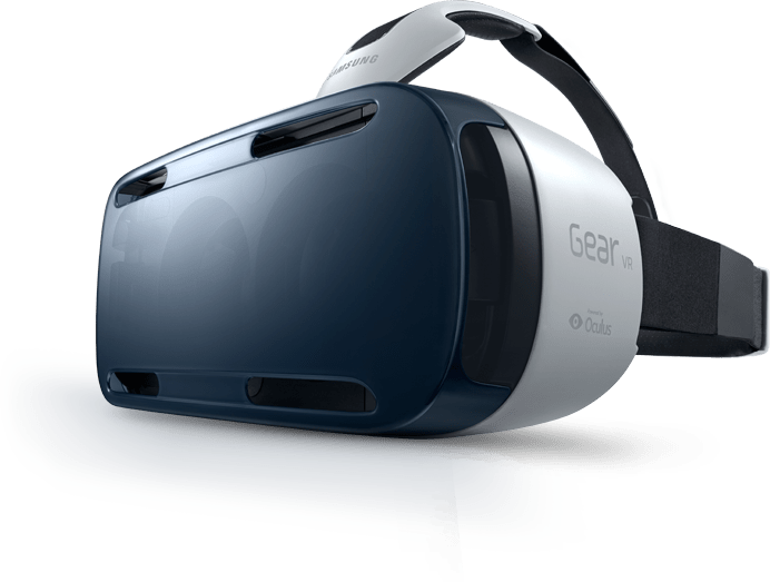 Samsung Gear By Oculus VR Headset transparent PNG.