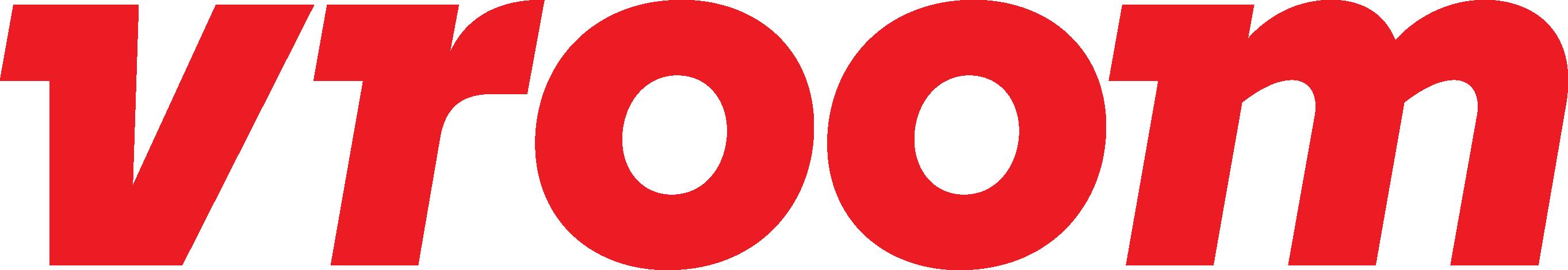 Vroom logo.