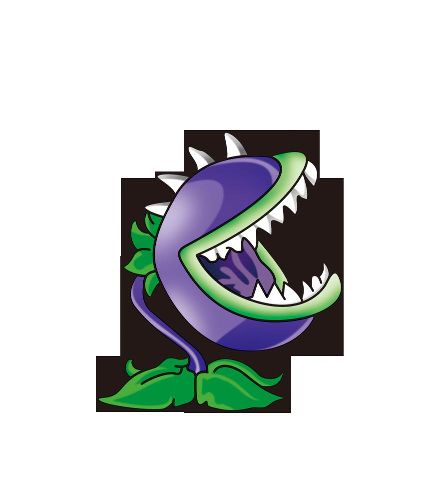 Plants vs. Zombies Cartoon Illustration.