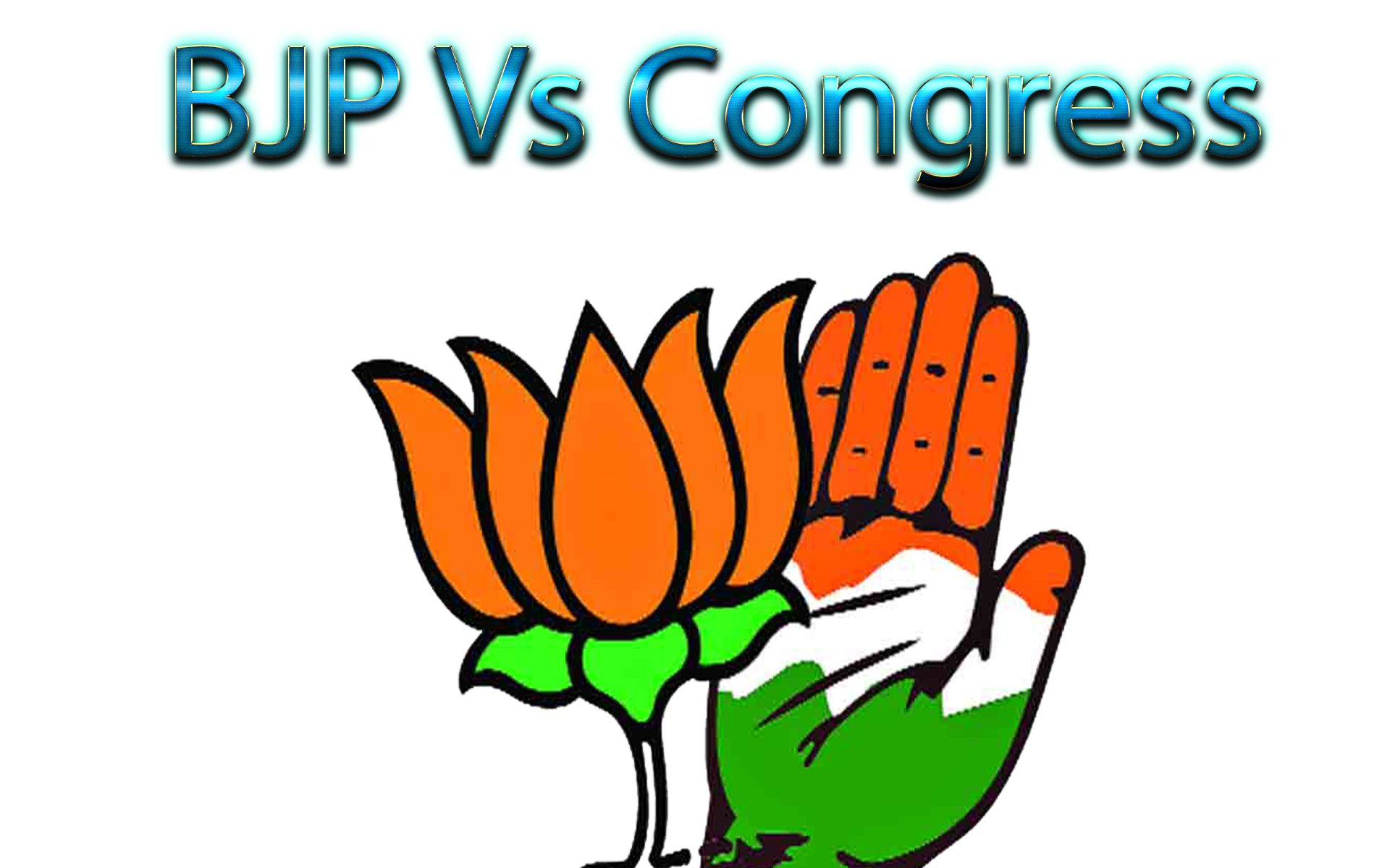 BJP Vs Congress PNG Free Images.