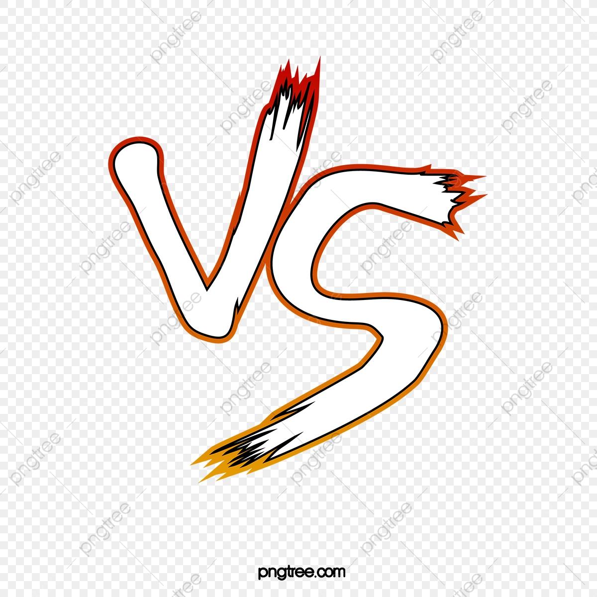 Vs Showdown, Vs Calligraphy, Pk Duel, Vs PNG Transparent Clipart.