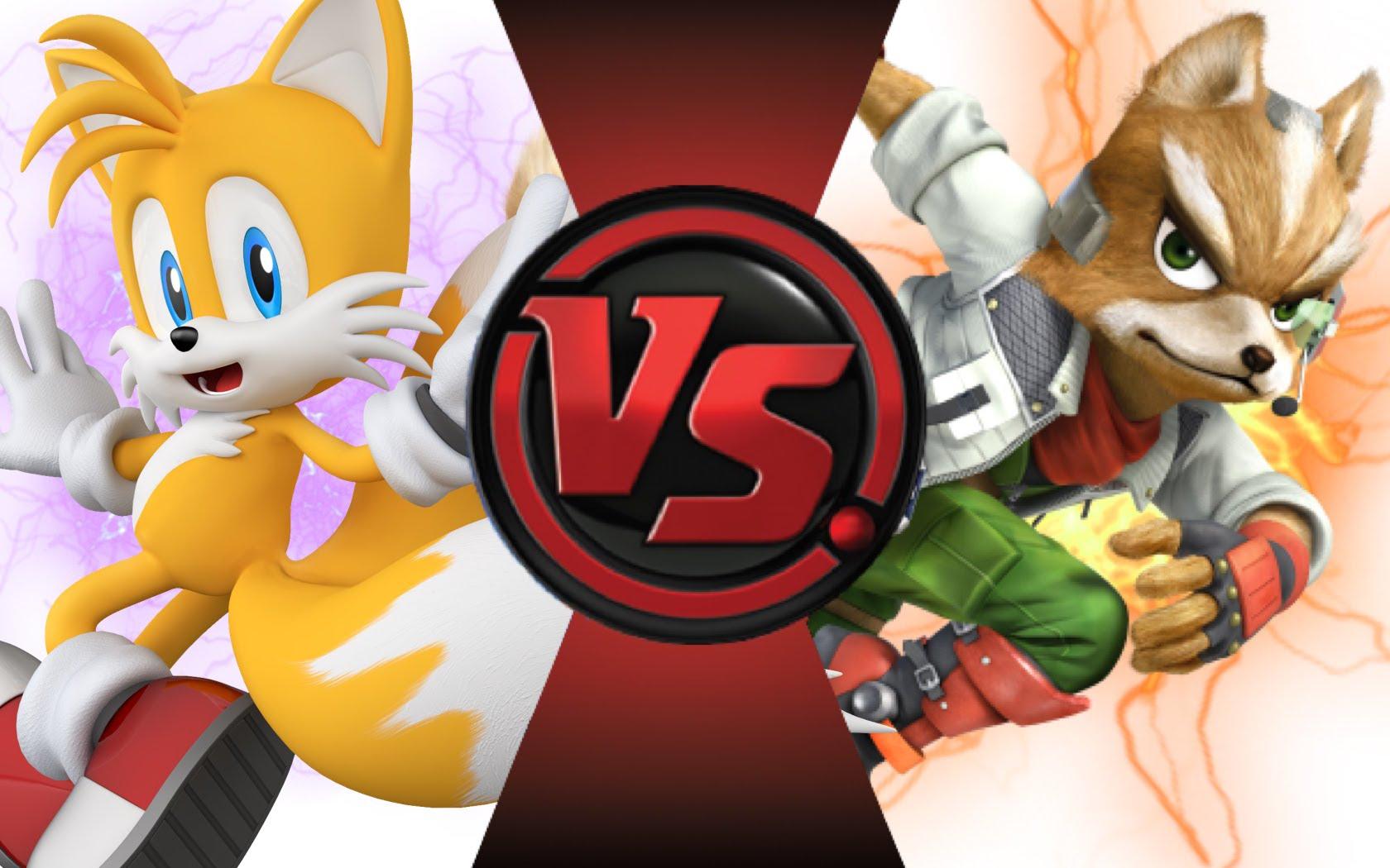 TAILS vs STAR FOX! Cartoon Fight Club Episode 57.