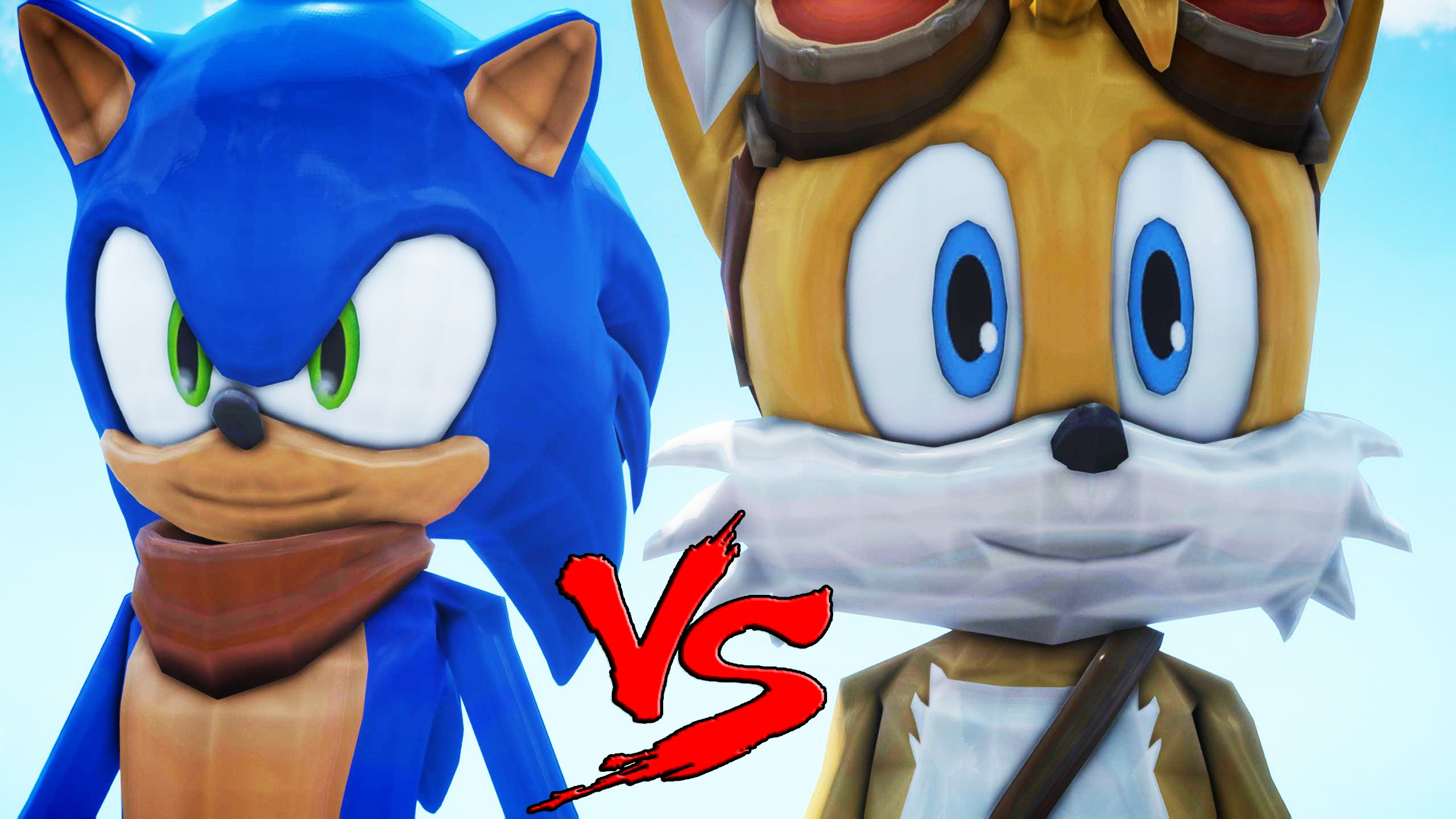 SONIC VS TAILS.