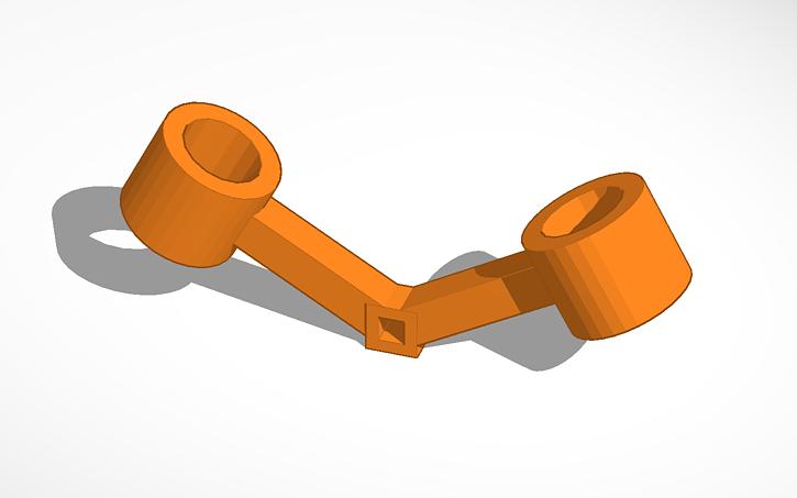 3D design 30 degree V.