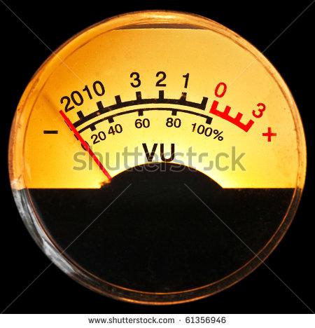 Vu Meter Stock Photo 61356946 : Shutterstock.