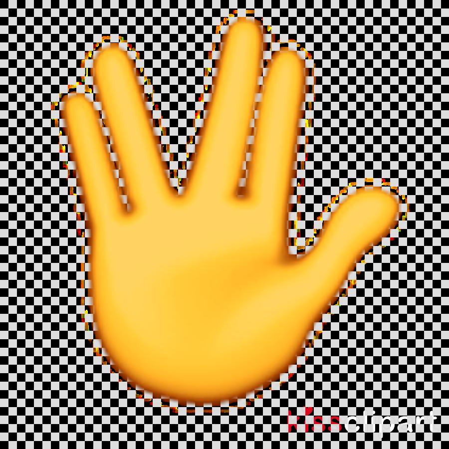 Middle Finger Emoji clipart.