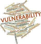 Stock Illustration of Vulnerability k11667269.