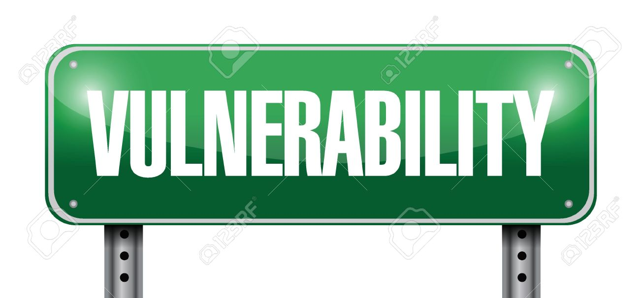 Vulnerability clipart.