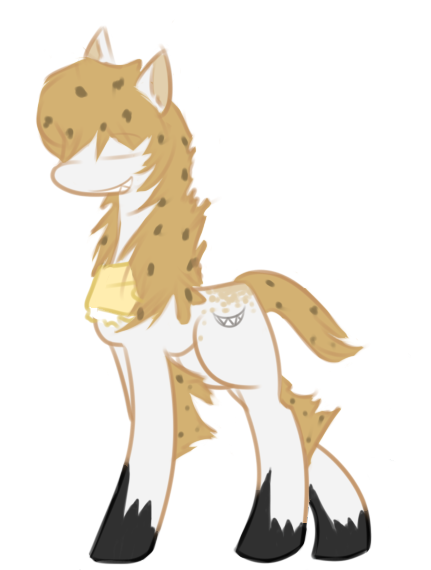 Hyena Pony Adopt (Closed!) by Lady.