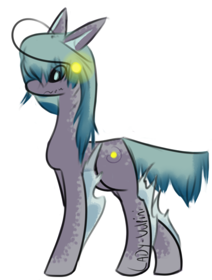 Angler Fangs Pony Adopt (Closed) by Lady.