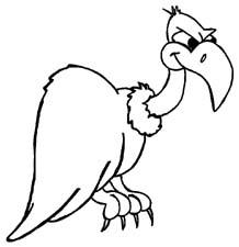 Vulture clip art.