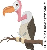 Vulture Clipart Royalty Free. 715 vulture clip art vector EPS.