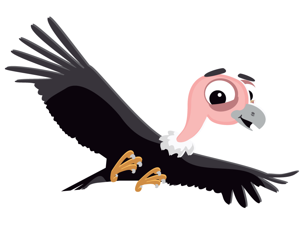 Free to Use & Public Domain Vulture Clip Art.