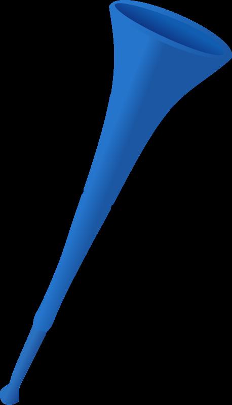 Vuvuzela clipart.