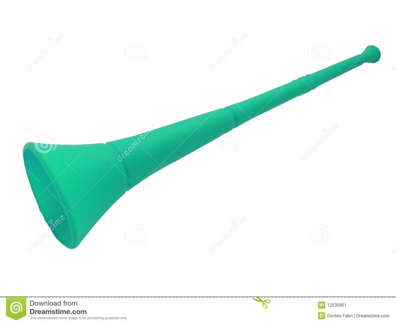Vuvuzela Horn Stock Image.