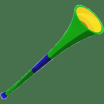 Vuvuzela transparent PNG.