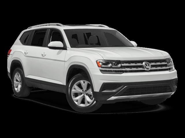 New 2018 Volkswagen Atlas SEL.