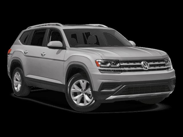 New 2018 Volkswagen Atlas 3.6L V6 SEL Premium All Wheel Drive SUV.