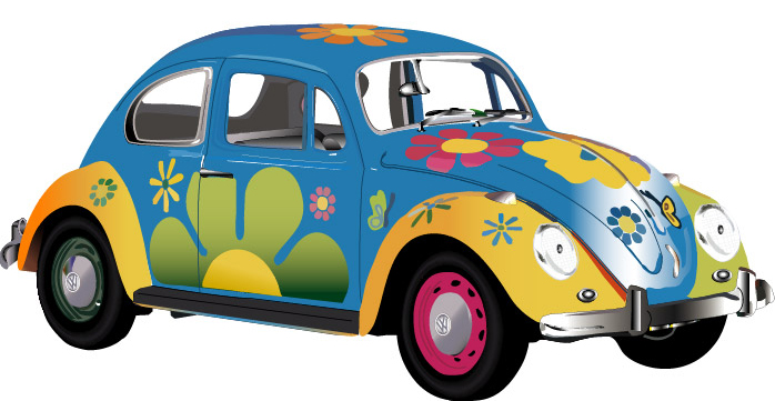 Vw beetle clipart - Clipground