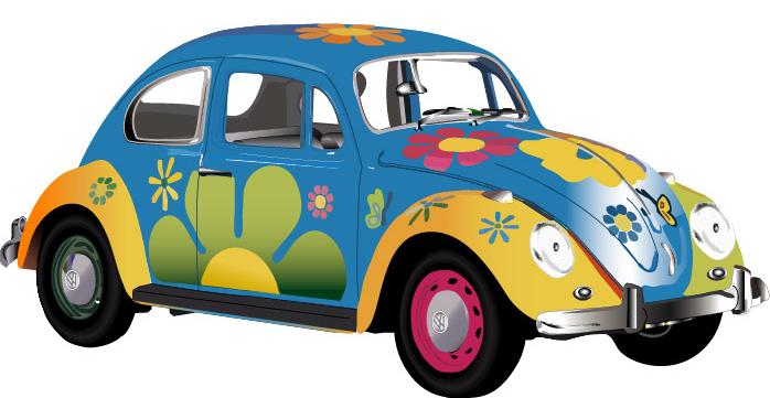 Volkswagen Bug Clipart.