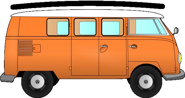 Clipart vw bus.