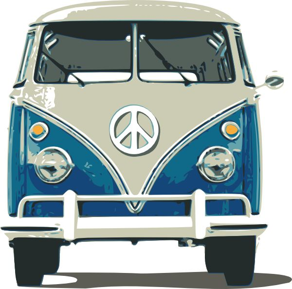 Vw Bus Clip Art At Clker Com Vector Clip Art Online Royalty Free.