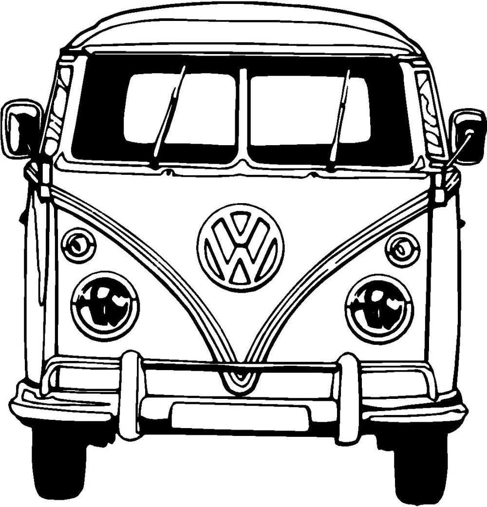 poster volkswagen bus.