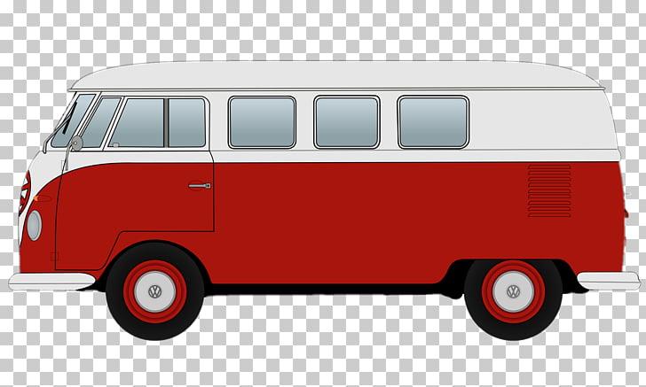 Van Car Volkswagen Type 2 Volkswagen Transporter, camper PNG.