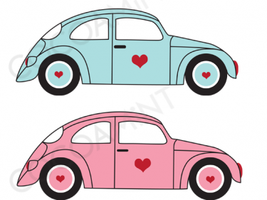 VW Love Bugs Clip Art Fun VW car graphics!.