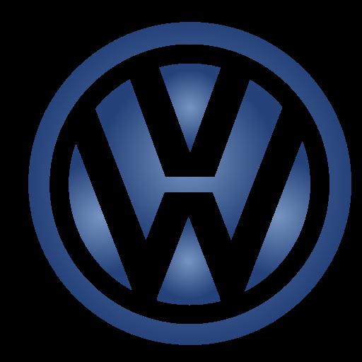 Logo, volkswagen, vw icon.