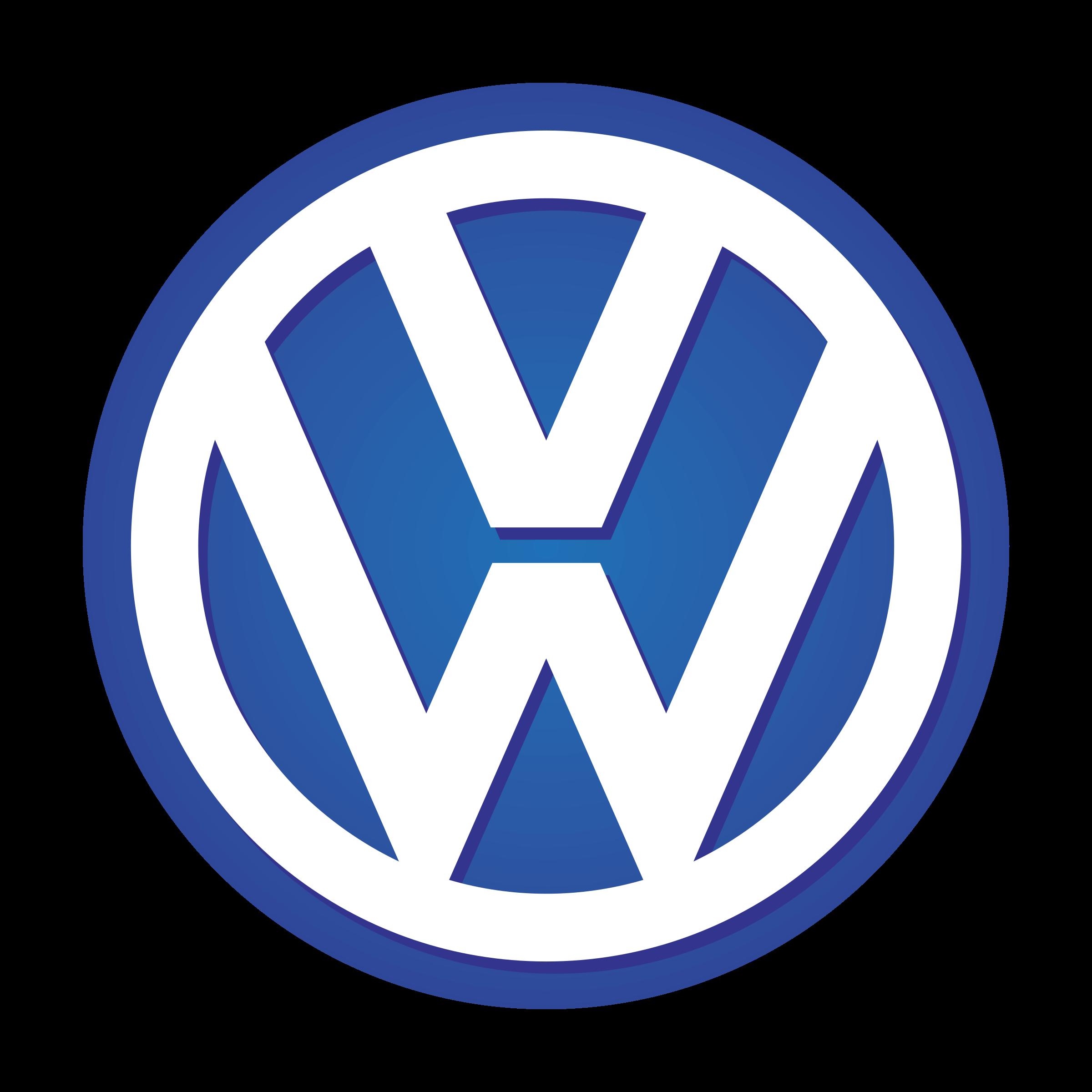 Volkswagen VW Logo PNG Transparent & SVG Vector.